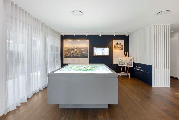 Interior of Display Suite